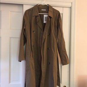 Jackets & Blazers - Long cotton Trench Coat size L